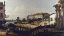 Bellotto/ Schleuse und Wirtshaus/ 1748 von AKG  Images