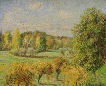 C.Pissarro, Herbststimmung mit Nussbaum.. von AKG  Images