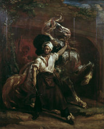 Th.Gericault, Der Hufschmied by AKG  Images