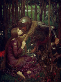 J.W.Waterhouse, La Belle Dame sans Merci von AKG  Images