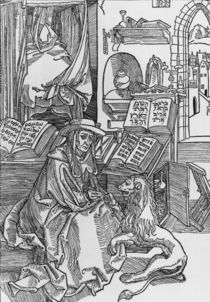 Duerer, Hl.Hieronymus zieht Dorn aus by AKG  Images