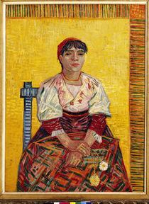 Van Gogh / Die Italienerin / 1887 von AKG  Images