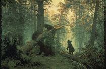 Schischkin, Morgen in einem Kiefernwald von AKG  Images