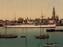 Antwerpen, Hafen, Dampfer 'Preussen' von AKG  Images