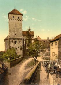 Nuernberg, Burg / Heidenturm / Photochrom von AKG  Images