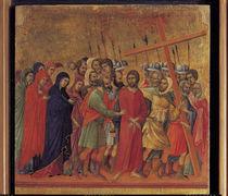 Duccio, Die Kreuztragung by AKG  Images