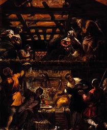 Tintoretto, Anbetung der Hirten by AKG  Images