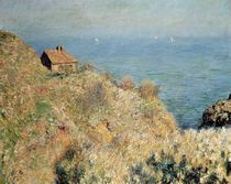 Monet, Haus des Fischers b. Varengeville von AKG  Images