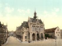 Erfurt, Rathaus / Photochrom von AKG  Images