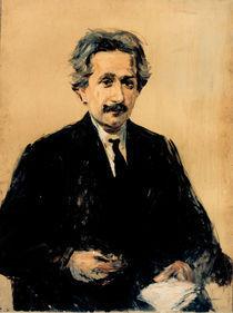 Albert Einstein / Gemaelde von Liebermann von AKG  Images