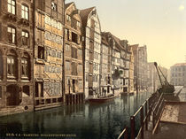 Hamburg, Hollaendischer Brook/ Photochrom by AKG  Images
