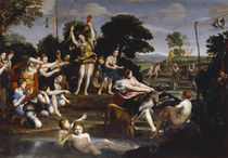 Domenichino, Jagd der Diana by AKG  Images