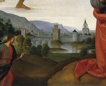 Perugino, Landschaft mit Judas von AKG  Images