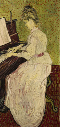 V.van Gogh, Marguerite Gachet am Klavier by AKG  Images