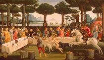 Botticelli, Geschichte des Nastagio III von AKG  Images