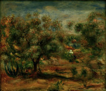 A.Renoir, Landschaft bei Cagnes by AKG  Images
