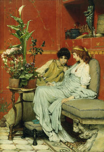 L.Alma Tadema, Vertraulichkeiten by AKG  Images
