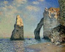 Monet, Die Nadel und die Falaise d'Aval by AKG  Images