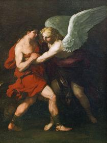L.Giordano, Kampf Jakobs mit dem Engel von AKG  Images