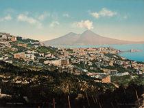 Neapel + Vesuv / Photochrom um 1900 von AKG  Images