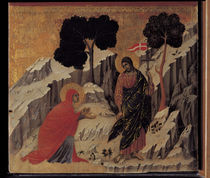 Duccio, Noli me tangere by AKG  Images