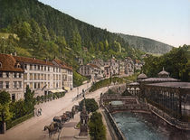 Wildbad, Olgastrasse / Photochrom by AKG  Images