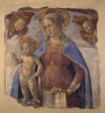D.Ghirlandaio, Maria mit Kind (Fresko) von AKG  Images