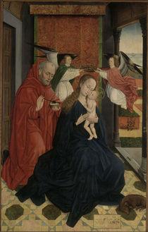 R.v.d.Weyden Schule, Heilige Familie by AKG  Images