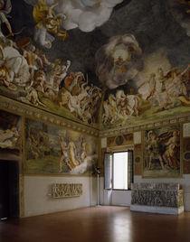 Mantua, Pal.Ducale, Sala di Troia von AKG  Images