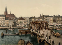 Stettin, Hansabruecke / Photochrom by AKG  Images
