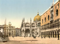 Venedig, Markusplatz / Photochrom by AKG  Images