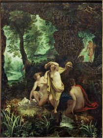 J.Brueghel d.Ae., Diana und Aktaeon by AKG  Images