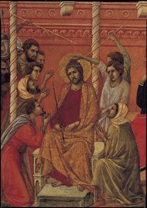 Duccio, Dornenkroenung, Ausschnitt von AKG  Images