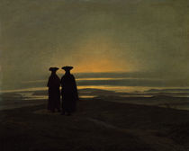 C.D.Friedrich, Abendlandschaft by AKG  Images