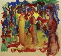 A.Macke, Frauen beim Spaziergang, 1913 by AKG  Images