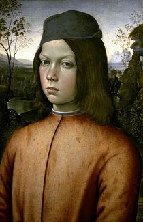 Pinturicchio/ Bildnis eines Knaben/ 1480 von AKG  Images
