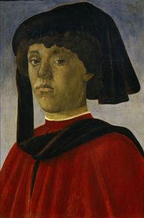 S.Botticelli, Bildnis eines jung.Mannes von AKG  Images