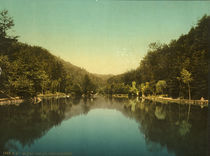 Baden Baden, Waldsee / Photochrom by AKG  Images