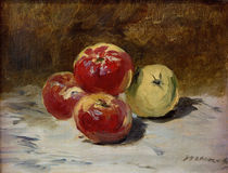 Edouard Manet, Vier Aepfel by AKG  Images