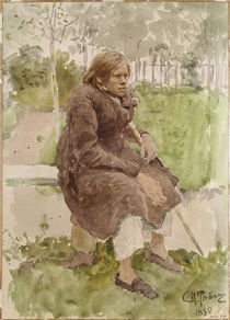 Ilja Repin, Der Krueppel/ 1880 by AKG  Images