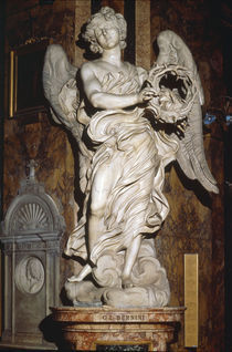 G.L.Bernini, Engel mit der Dornenkrone by AKG  Images