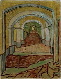 V.van Gogh, Korridor der Heilanstalt by AKG  Images
