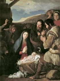 J.de Ribera, Anbetung de Hirten by AKG  Images