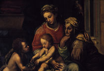 Giulio Romano, Maria, Kind, Elisabeth... von AKG  Images