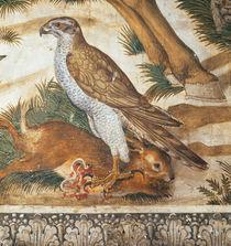 B.Gozzoli, Zug der Koenige, Raubvogel von AKG  Images