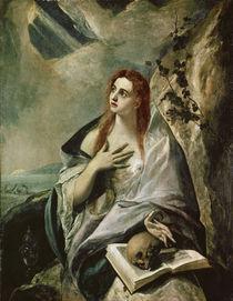El Greco, Die buessende Magdalena by AKG  Images