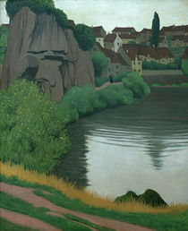 F.Vallotton, Landschaft bei Semur by AKG  Images