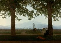 C.D.Friedrich, Gartenterrasse / um 1811 by AKG  Images
