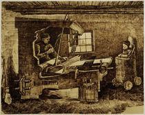 V.van Gogh, Weber mit einem Kleinkind by AKG  Images