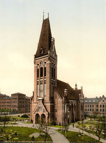 Bromberg, Christuskirche / Photochrom by AKG  Images